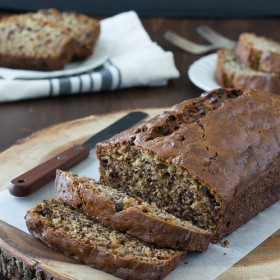 Easy banana chocolate chip bread the first year easy banana chocolate chip bread forumfinder