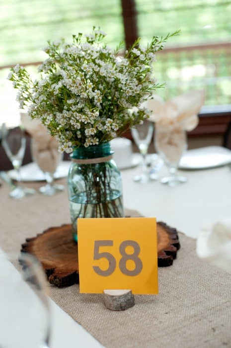 Rustic Wedding Decor 1