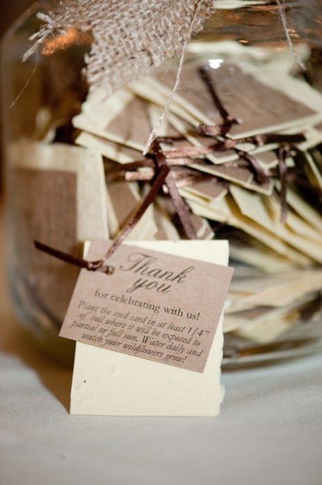 Rustic Wedding Guest Favor