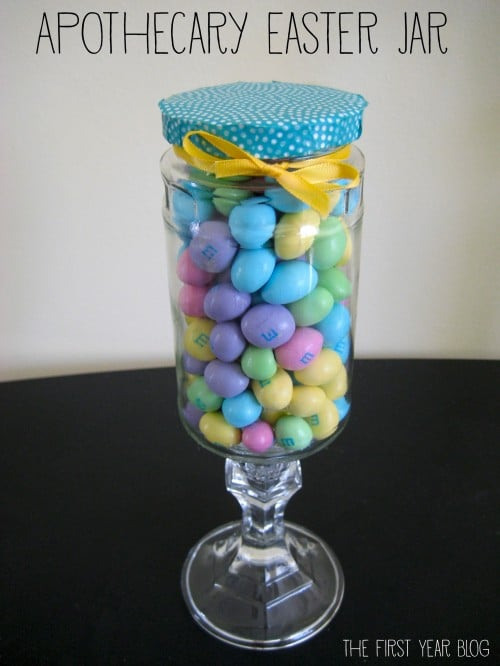 apothecary easter jar