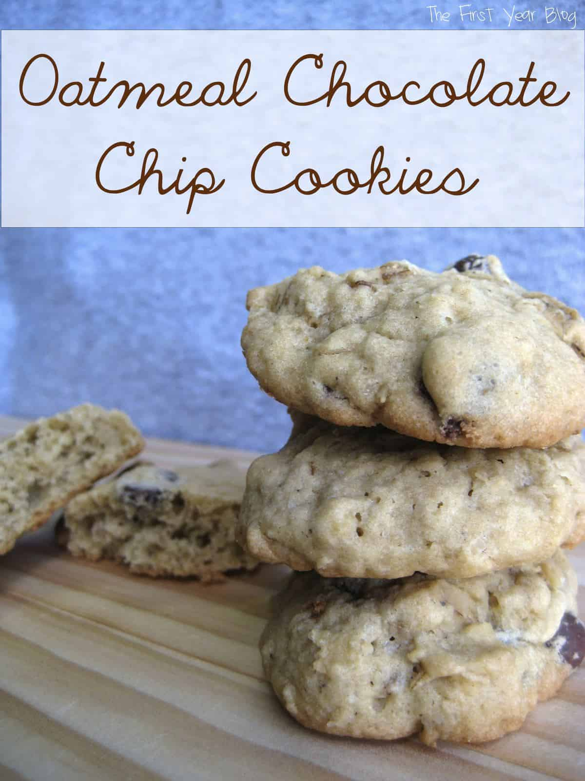 Oatmeal Chocolate Chip Cookie Recipes — Dishmaps