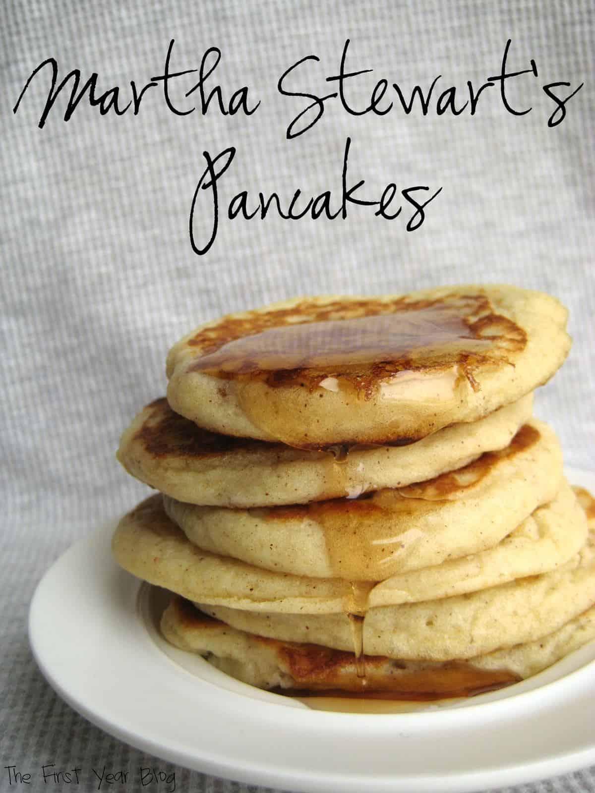 Martha Stewart's Pancakes | The First Year