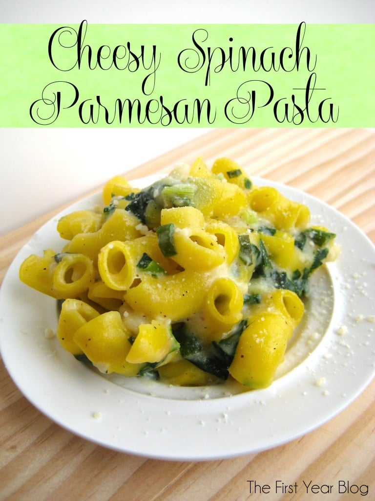 Spinach and Parmesan Pasta 4_29