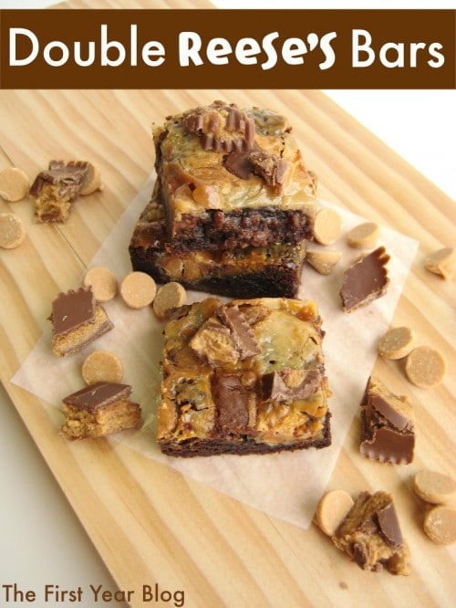 Double Reese's Magic Bars