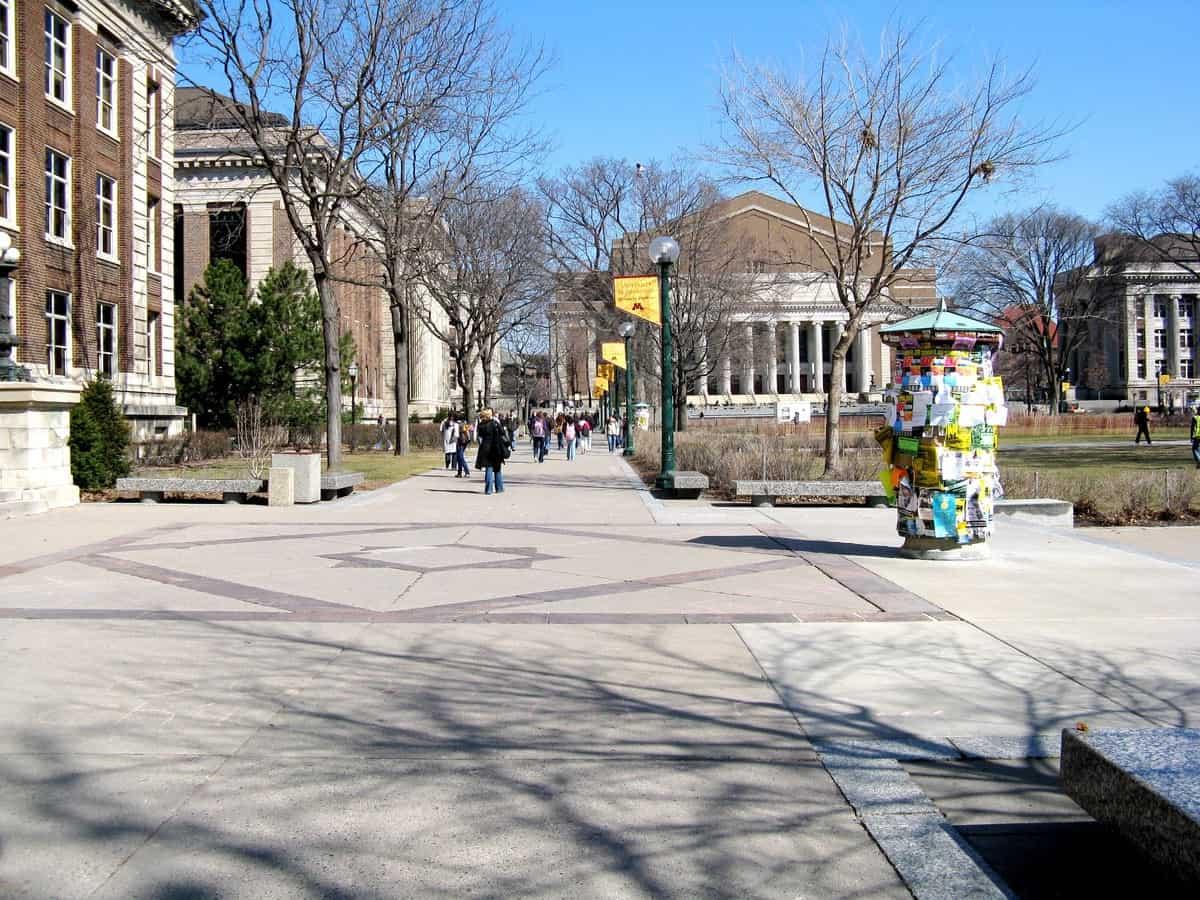 University Of Minnesota Campus Winter