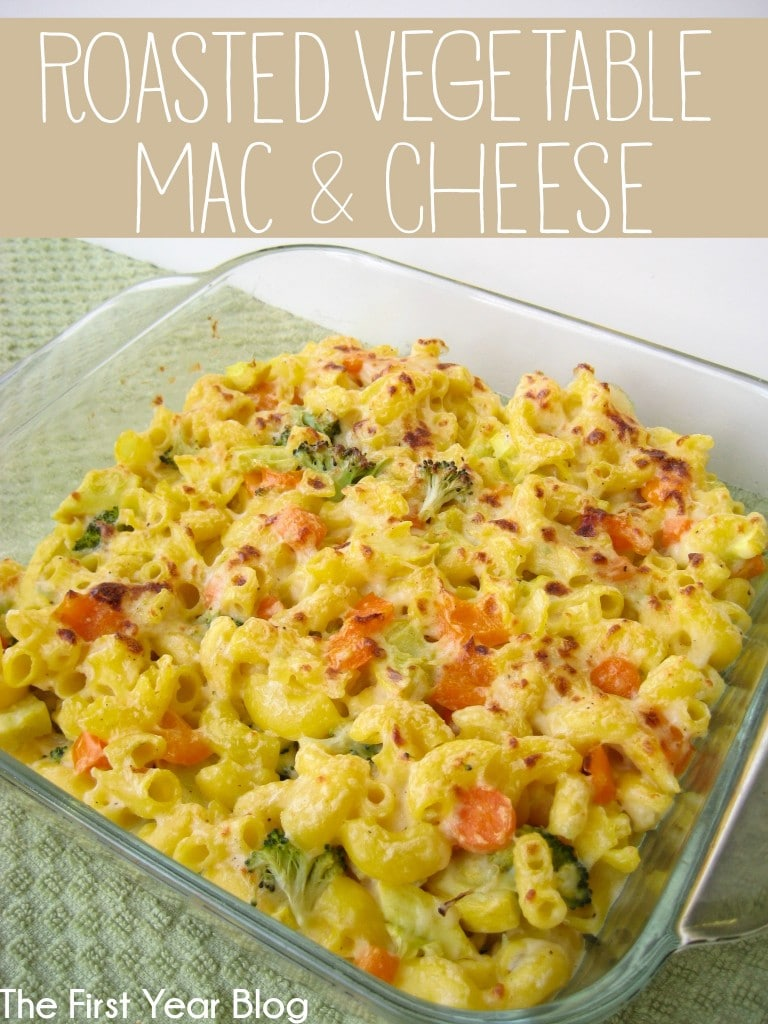 ... doesn't like mac & cheese? This roasted vegetable mac & cheese