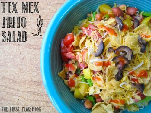 Tex Mex Frito Salad