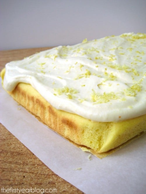 Dreamy Lemon Cake