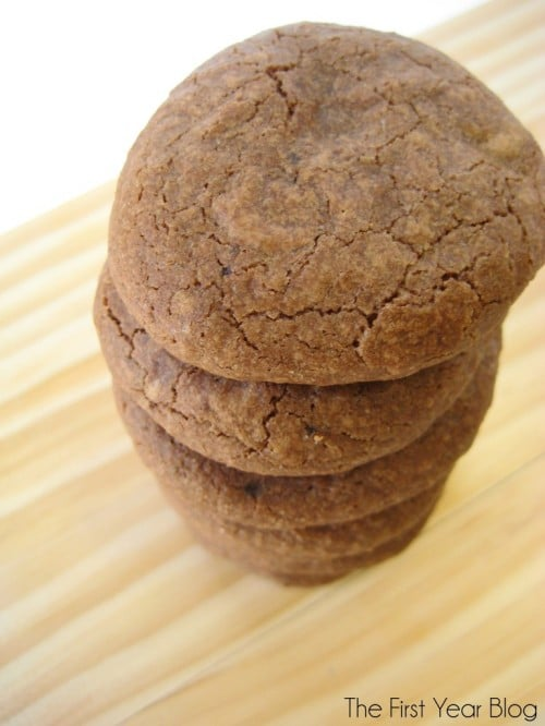 Mocha Truffle Cookies