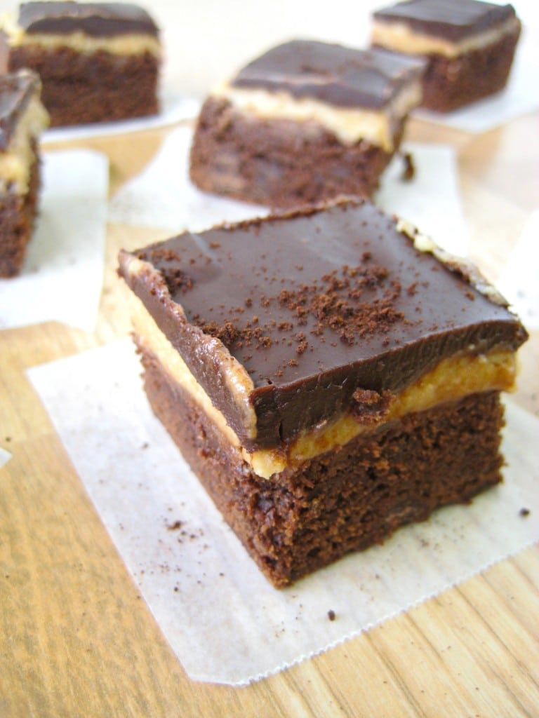 Triple Layer Cappuccino Brownies | The First Year