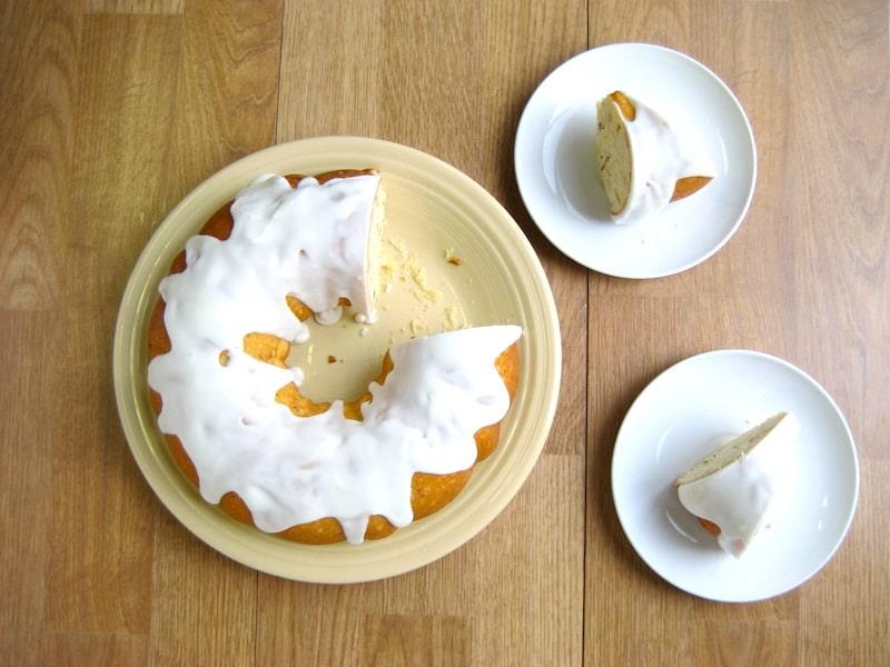 Lemon Almond Bundt Cake