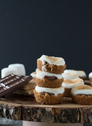 S'mores Bites - a twist on the classic dessert made in the oven!
