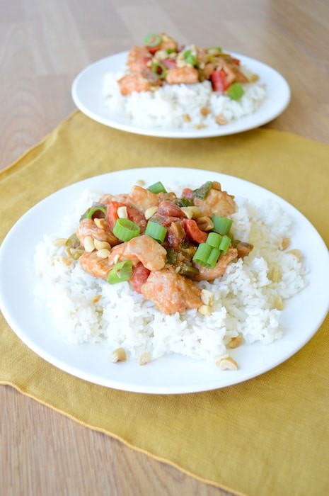 Szechuan Peanut Chicken 2