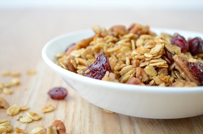 Cranberry Orange Granola 8