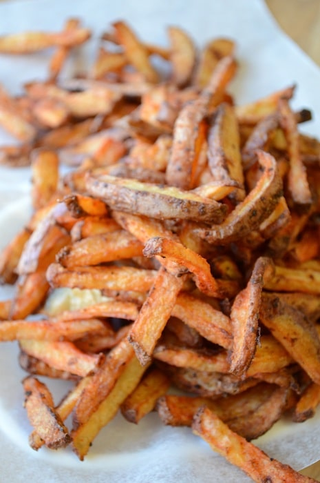 Homemade Crispy French Fries