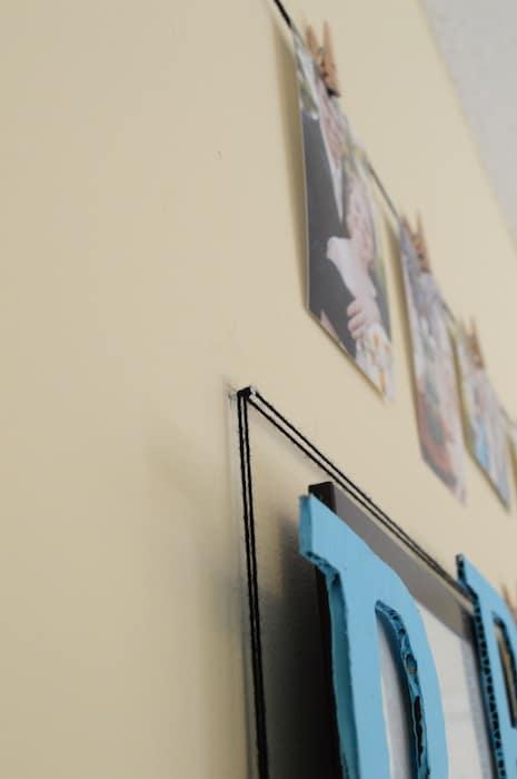 Photo Display Wall D