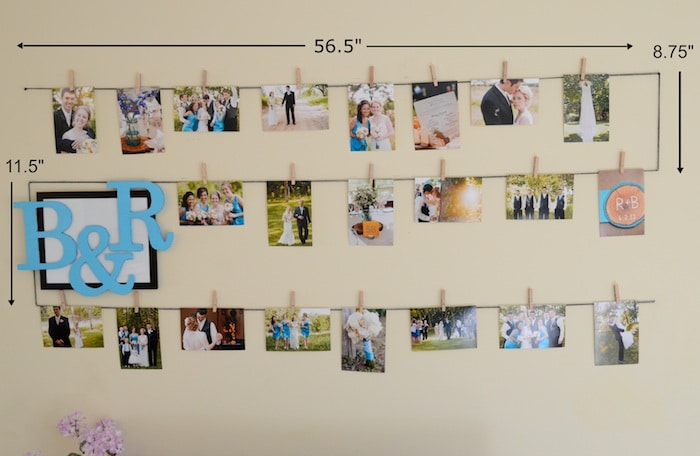Photo Display Wall F