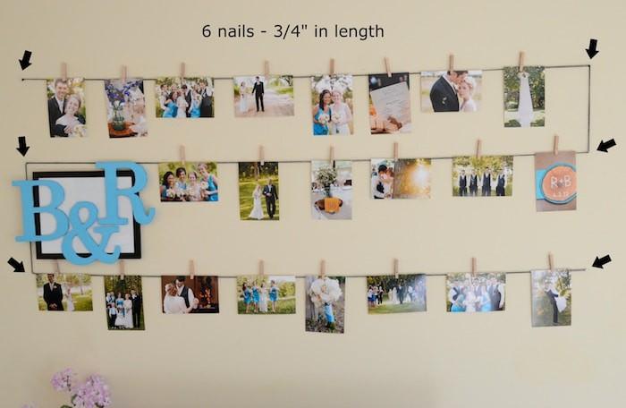 Photo Display Wall G