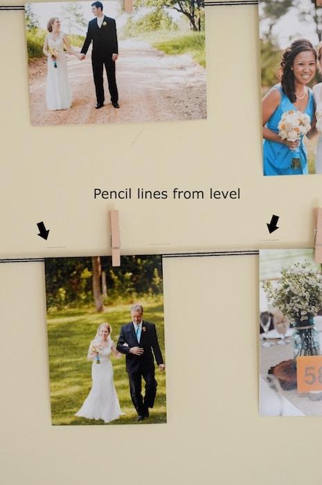 Photo Display Wall H
