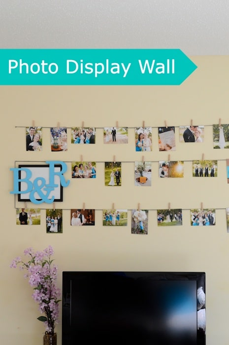 Photo Display Wall I