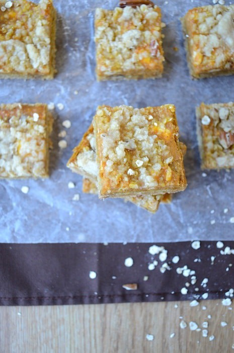 Pumpkin Pie Bars 8