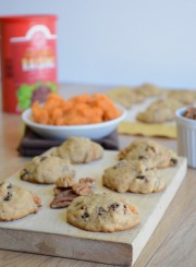 Sweet Potato Raisin Pecan Cookies 4