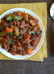 Vegetarian Quinoa Chili 7