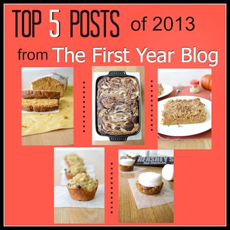 Top 5 Posts of 2013 from The First Year Blog