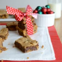 Gingerbread Chocolate Chip Bars