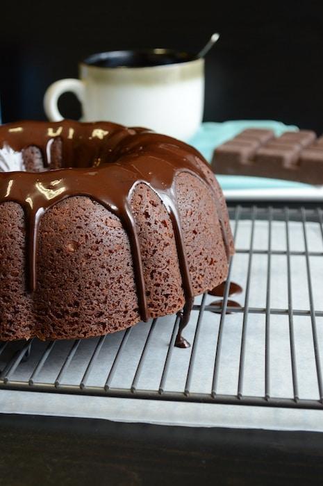 Hot Chocolate Bundt Cake