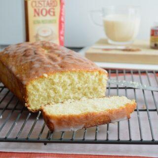 Whipped Eggnog Loaf Cake