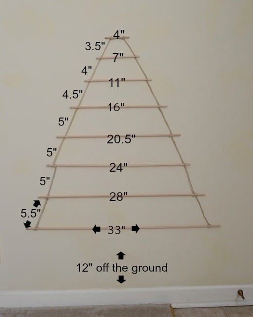 Tall Pencil Christmas Trees