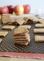 Apple Cinnamon Graham Crackers