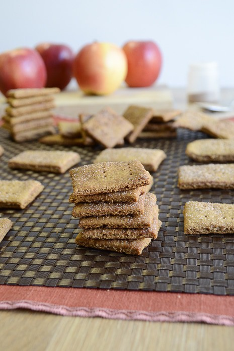 Apple Cinnamon Graham Crackers
