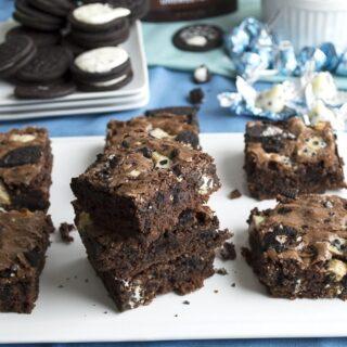 Oreo Cookies & Cream Brownies