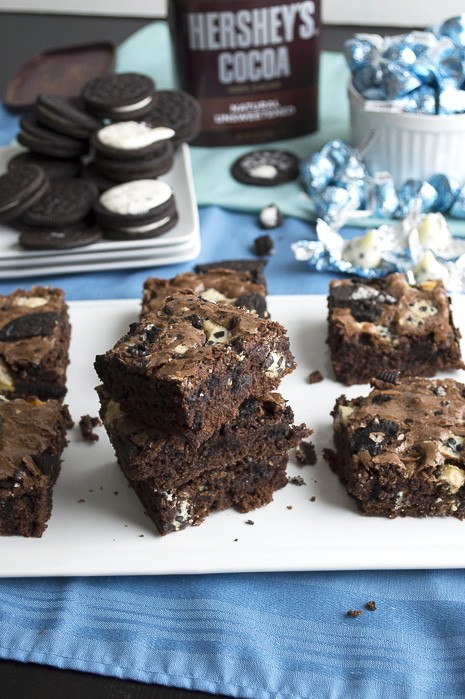 Oreo Cookies & Cream Brownies