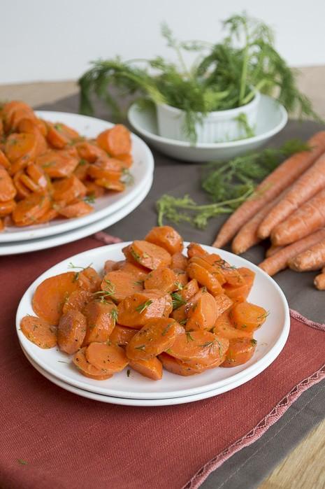 Sautéed Dill Carrots