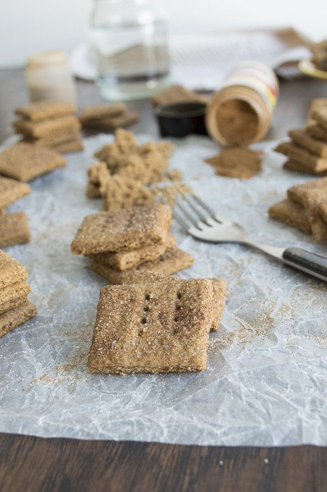 Homemade graham crackers are easy to make - get our step by step recipe. Make them gluten free by using gluten free flour too!