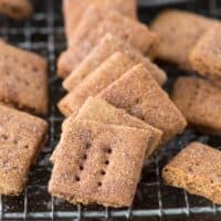 Brown Sugar Cinnamon Graham Crackers