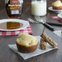 French Toast Maple Sausage Muffins