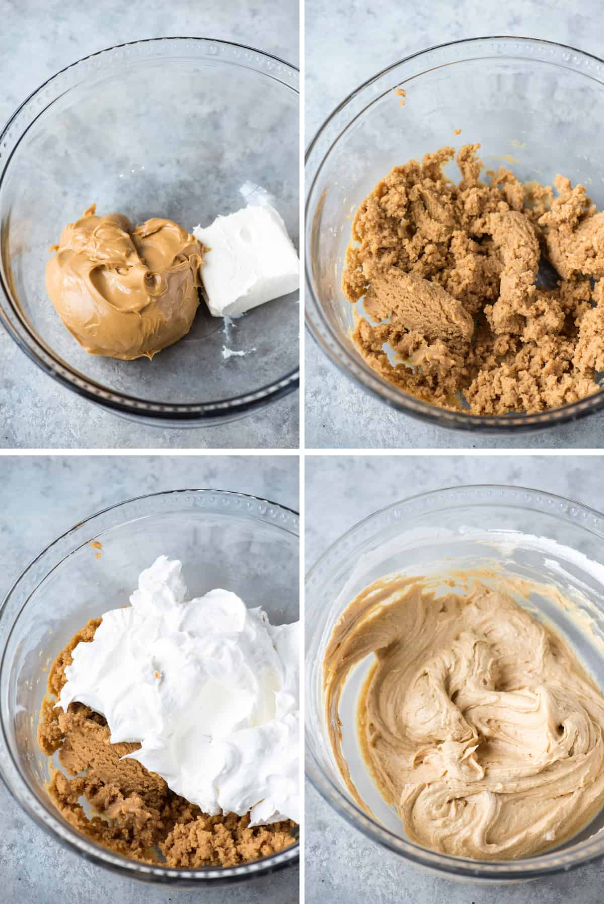 how to make chocolate peanut butter pie collage image