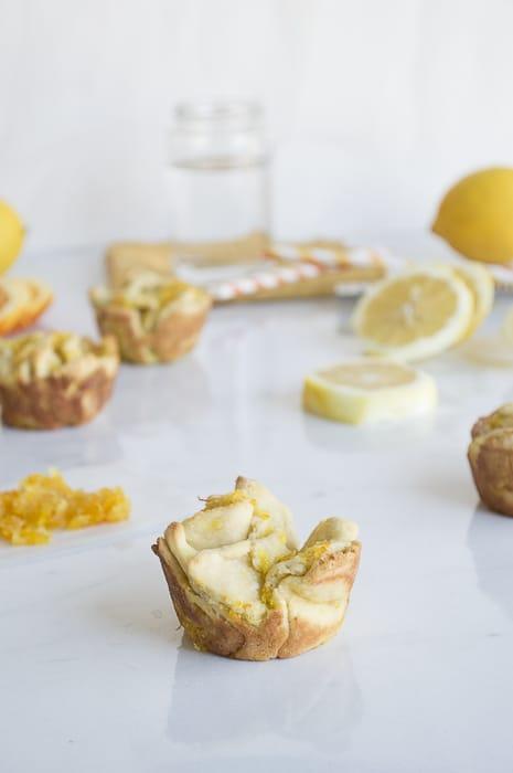 Lemon Pull Apart Sweet Rolls | thefirstyearblog.com
