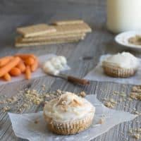 Mini Carrot Cake Cheesecakes
