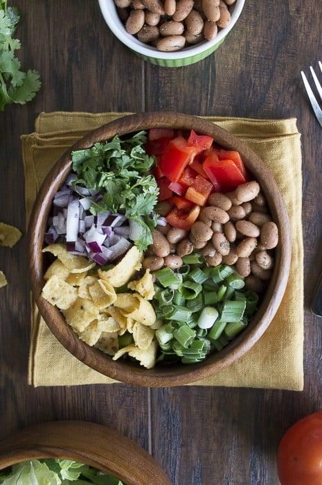 Tex Mex Frito Salad | thefirstyearblog.com