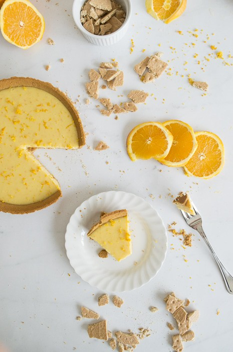 Orange Cream Pie | thefirstyearblog.com