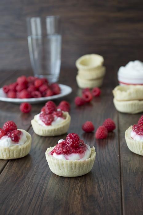 Raspberry Ripple Tarts | thefirstyearblog.com