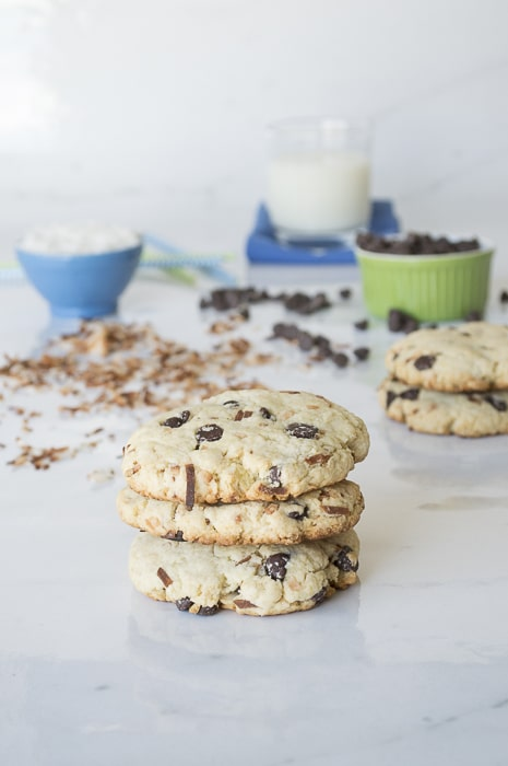 Toasted Coconut Chocolate Chip Scones | thefirstyearblog.com