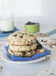 Toasted Coconut Chocolate Chip Scones |thefirstyearblog.com