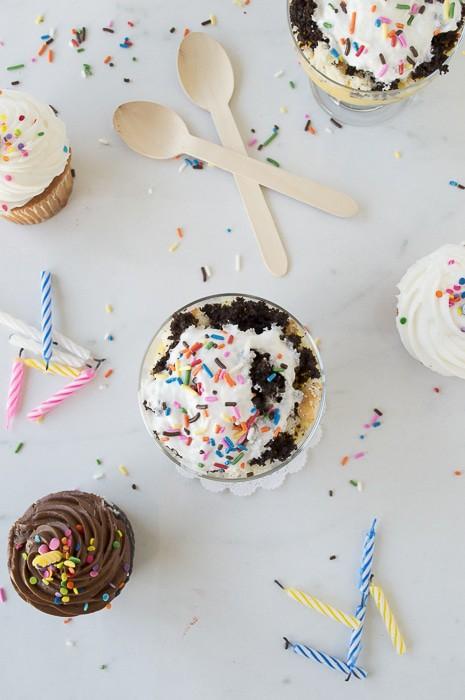 Birthday Cake Parfait | thefirstyearblog.com