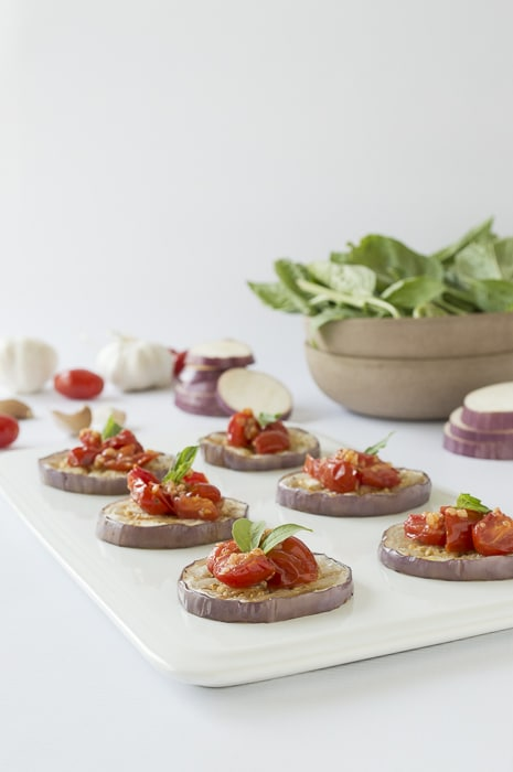 Garlicky Tomato And Eggplant Stacks The First Year